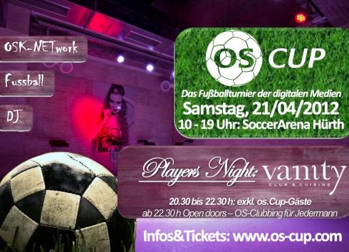 OS Players Night - Premium Clubbing für die Online Branche im Vanity