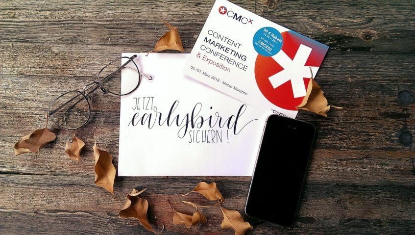 CMCX 2018 ➡️ das Content-Marketing Event für Medien- und Marketingentscheider