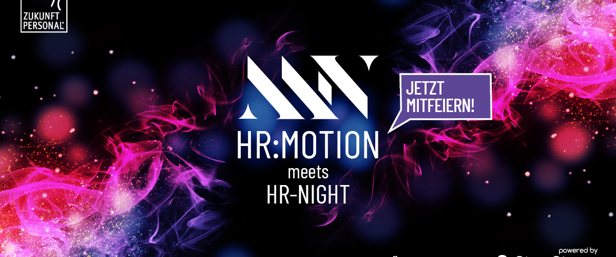 HR-NIGHT meets HR:motion 💙  Das Networking Event für die HR-Community!