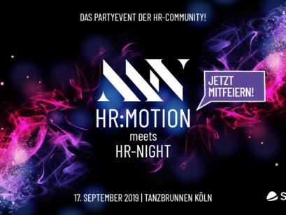 HR-NIGHT meets HR:motion 💙  Das Networking Event für die HR-Community!